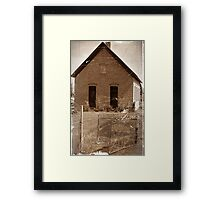 Washington School- Vernal LDS Relief Society Hall Utah Framed Print