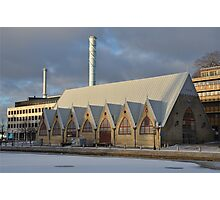 Winter in Gothenburg Photographic Print