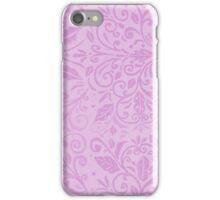 Lilac Scrolls iPhone Case/Skin