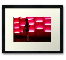 Chic Chick - Hollywood, California Framed Print