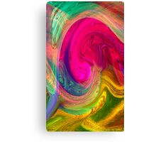Untitled abstract 133- Art + Design products Canvas Print