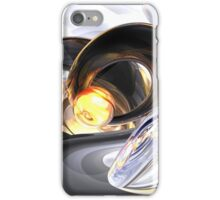 Fire and Ice Abstract iPhone Case/Skin