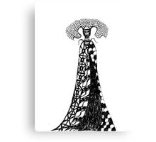 Queen of capacitation Canvas Print