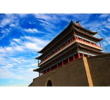 Zhengyangmen Gate - Beijing, China Photographic Print