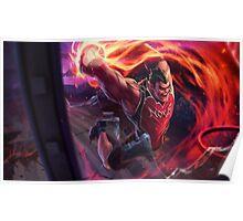 Dunkmaster Darius Poster