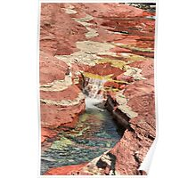 Waterless Red Rock Canyon Poster