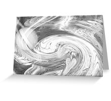 Untitled abstract 132- Black and white- Art + Design products Greeting Card