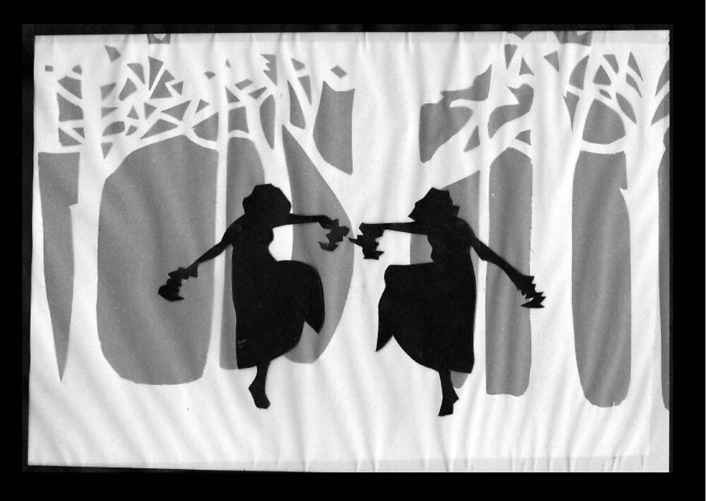 Dancing Silhouettes by Lisa Richards