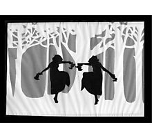 Dancing Silhouettes Photographic Print