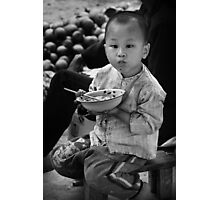 Chinese Boy - Xingping, China Photographic Print