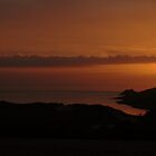 Sunset at Crantock Beach, Cornwall by jrfphotography