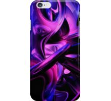 Fluorescent Passions Abstract iPhone Case/Skin