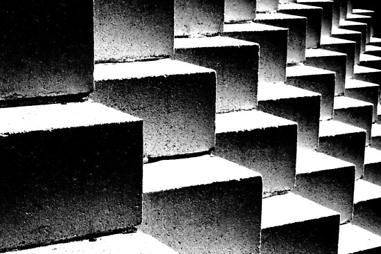 Composition in black and white by Thad Zajdowicz