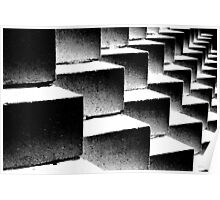 Composition in black and white Poster