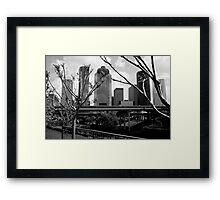 houston. Framed Print