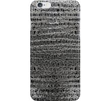 Thick Silver Chain Maille iPhone Case/Skin