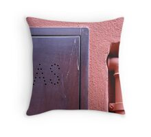 GAS Throw Pillow