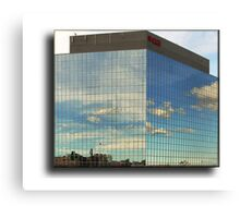 Highway Office Canvas Print