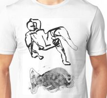 reclining declining, saturday and another fish takes to the sea - the tee 2 Unisex T-Shirt