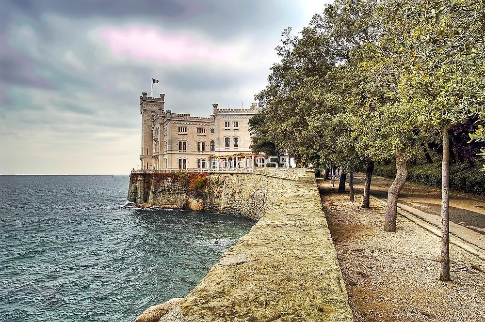 Italian Castle - Miramare Castle by paolo1955