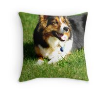 Happy Hanna Throw Pillow
