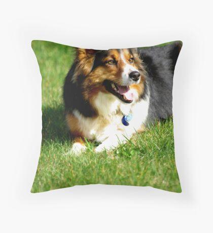 Happy Hanna Throw Pillow