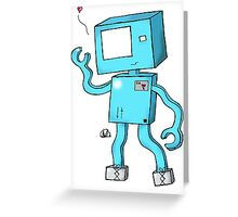 Oh Hai, I'm a Robot! Greeting Card
