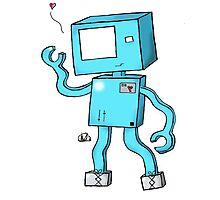 Oh Hai, I'm a Robot! Photographic Print