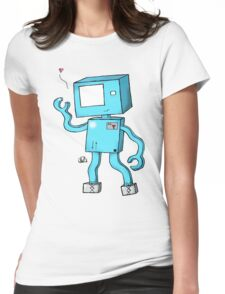 Oh Hai, I'm a Robot! Womens Fitted T-Shirt