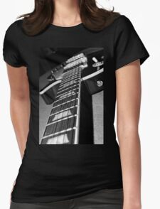 Silver Burst  Womens Fitted T-Shirt