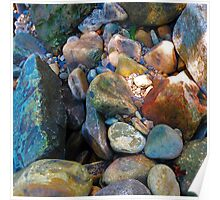 Colorful Rocks Poster