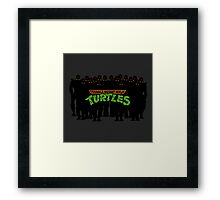 TMNT - Foot Soldiers - Teenage Mutant Ninja Turtles Framed Print