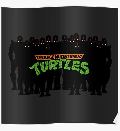 TMNT - Foot Soldiers - Teenage Mutant Ninja Turtles Poster
