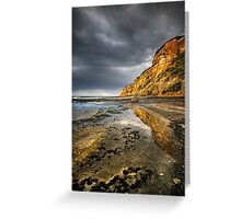 Cliff Reflection Greeting Card