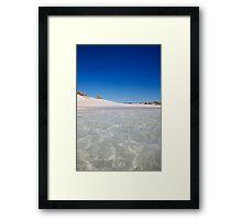 T-Bone Bay, Ningaloo Marine Park, Western Australia Framed Print