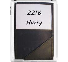 221B Hurry iPad Case/Skin