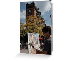 Art Walk Live Greeting Card