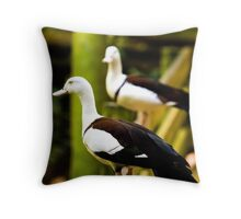 Ducking Around Throw Pillow
