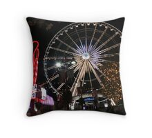 Niagara Sky Wheel Throw Pillow