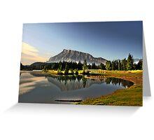 Cascade ponds Greeting Card