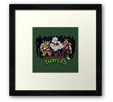 TMNT - Foot Soldiers with Shredder, Bebop & Rocksteady - Teenage Mutant Ninja Turtles Framed Print