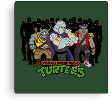 TMNT - Foot Soldiers with Shredder, Bebop & Rocksteady - Teenage Mutant Ninja Turtles Canvas Print