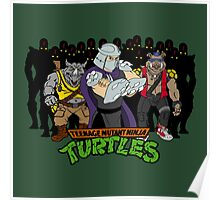 TMNT - Foot Soldiers with Shredder, Bebop & Rocksteady - Teenage Mutant Ninja Turtles Poster