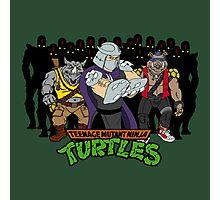 TMNT - Foot Soldiers with Shredder, Bebop & Rocksteady - Teenage Mutant Ninja Turtles Photographic Print
