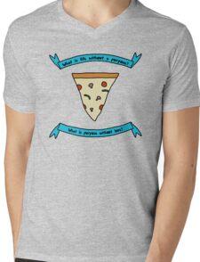 Purpose & Love 3 Mens V-Neck T-Shirt