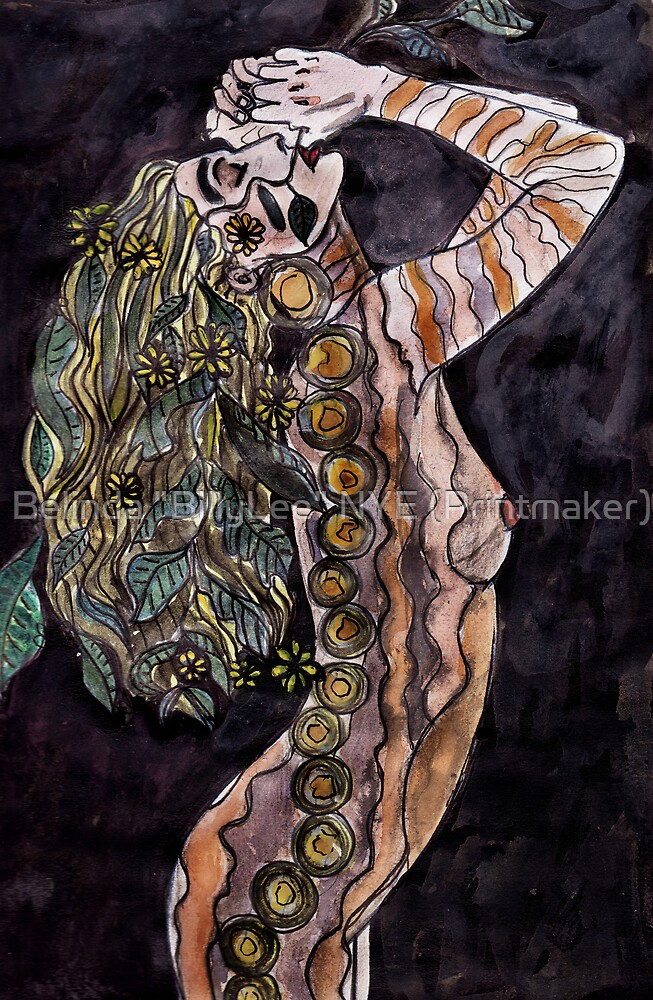 "Visual Diary 2 - Night Goddess by Belinda ""BillyLee"" NYE (Printmaker)"