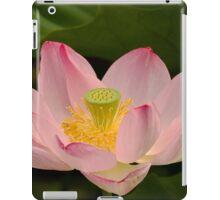 Pink lotus flower iPad Case/Skin