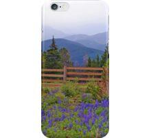 Mountain Meadow in Purple iPhone Case/Skin