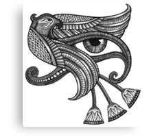 Eye of Horus (Tattoo Style Print) Canvas Print