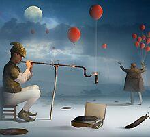 O Ensaio do Flautista by Marcel Caram